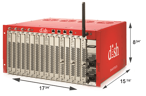 DISH SMARTBOX TV ENTERTAINMENT SOLUTION PRODUCT SPEC WITH MEASURMENTS